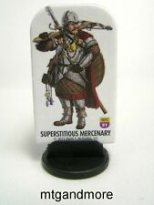 Pathfinder Battles Pawns/Tokens - #081 Superstitious Mercenary Fighter NPC Codex