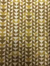 I Wove You Yellow Geometric Michael Miller Fabric FQ + More 100% Cotton Craft