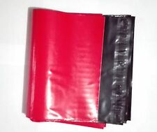 "50 Poly Mailers Envelope Shipping Supply Shipping Bags 6x8"" Red Color"