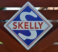 SKELLY Gas Station Pump Sign Oil Company Logo Advertising Midland Refinining AD