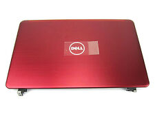 """Dell Inspiron 14z N411z 14"""" Red LCD Back Cover Lid with Hinges - 1HJCC (U)"""