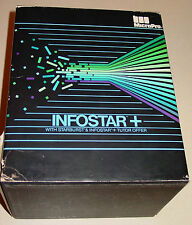 INFOSTAR +  IBM Data base Management system, DOS Vintage Software MicroPro