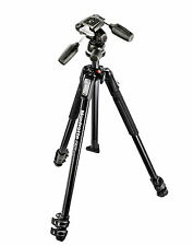 Manfrotto 190X 3-section Tripod + 804RC2 3 Way Head Kit