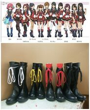 AKB0048 Cosplay Costume Boots Boot Shoes Shoe