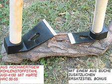 4+8cm FLACHDECHSEL DEXEL AXT NAGELZIEHER ZIMMERMANN HOLZSCHNITZEREI BAU WERKZEUG
