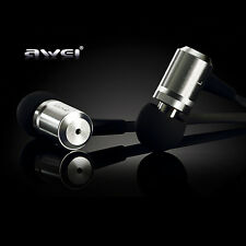 AWEI Earphone Super BASS and Noise Cancelling on Cord Microphone ES100i awei
