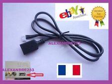 Cable auxiliaire USB pour PEUGEOT CITROEN - ENVOI RAPIDE EN SUIVIE