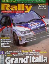 Rally Sprint 4 1996 Aghini nel suo 1° giorno alla Mitsubishi. Mond. Safari Q103]