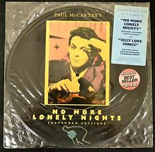 PICTURE DISC Paul McCartney Columbia 39927 No More Lonely Nights