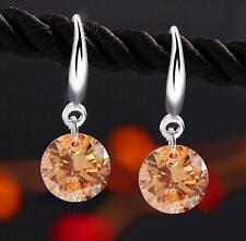 Fashion Rhinestone Crystal Drop/Dangle Ear Stud Hook Earrings Women Jewelry Gift