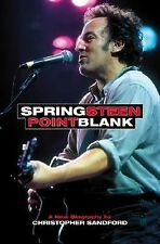 Bruce Springsteen Point Blank by Christopher Sandford 1999 Biography Book SC PB