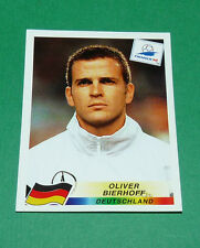 N°384 OLIVER BIERHOFF GERMANY PANINI FOOTBALL FRANCE 98 1998 COUPE MONDE WM