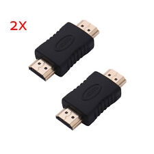 HDMI Male to HDMI Male Type A M/M Extender Adapter Converter Coupler Connector