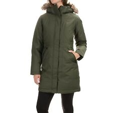 NWT THE NORTH FACE Women's Arctic Down Parka Coat Forest Night Green Sz M $299