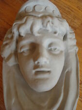 Facade stucco - gorgeous Woman's head, Wall jewelry from Concrete for Facade