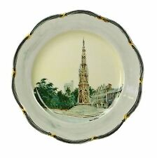 Spencer Edge Hand Painted The Martyrs Memorial Vintage Oxford Souvenir Plate