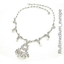 filigrane Silber Halskette Irak vintage silver necklace filigree Iraq