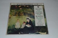 Piano Music For Four Hands -Bizet, Jeux d'enfants - Faure, Dolly, Ravel, Ma Mere