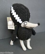 New DISNEY STORE TIM BURTON FRANKENWEENIE Poodle Plush Dog Animal