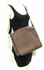 Louis Vuitton Ebene Brown Damier Bastille Messenger Bag