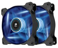 CORSAIR SP120 Blue LED 12cm 120mm CASE PC FAN Twin Pack-co-9050031-ww