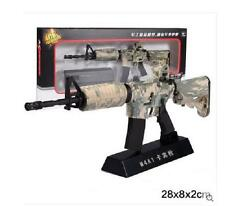 M4A1 Sniper Rifle Display model, scale 1/3 (L=28cm), Metal and plastic, Camo B