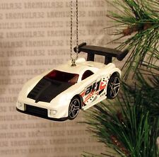 2003 TOYOTA MR2 '03 WHITE BLACK TUNER CHRISTMAS ORNAMENT XMAS