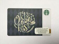 Starbucks Card Oktoberfest 2015 limited NEU München Germany Geschenkkarte Gift