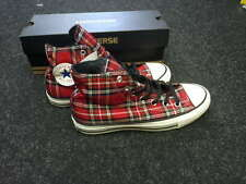 Converse All Star Tartan Rosso Scozzese Rosse 36 36,5 37,5 38 39 39,5 41 42 43
