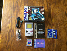 Nintendo Game Boy Gray Handheld System DMG-01 Refurbished Screen Almost Complete