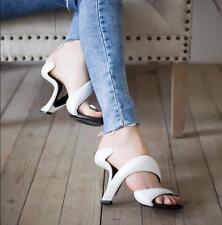 Womens Stilettos Unique Design Party Nightclub Wedding High Heel Shoes White Us8