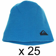 Warm Ski Quiksilver Beanie Hat Cap Unisex Synthetic Acrylic Blue One Size x25