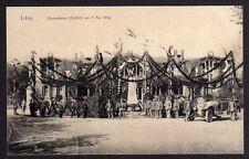 69263 AK Liepāja Libau Feier Einweihung Denkmal 1916