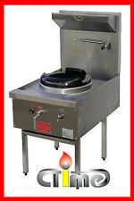 NEW Wok Stove Waterless Single Ring Stainless Steel Commercial Catering CWS-T1