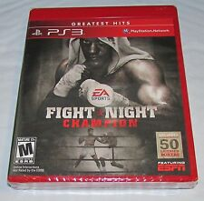 Fight Night Champion for Playstation 3 Brand New! Factory Sealed!