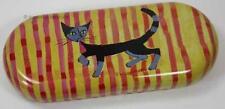 Brillenetui * Rosina WACHTMEISTER *  Katze Etui für Brille * curtain up * Katzen