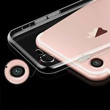 For iPhone 7 Ultra Thin Slim Silicone Soft Clear TPU Back Case Skin Cover