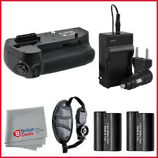 Battery Grip + 2 EN-EL15 Battery Packs + Charger for Nikon D7100 DSLR Camera