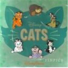 2015 DISNEY CATS CHESHIRE, SI, AM, FIGARO, MARIE BOOSTER Set of 6 PIN NIP 110421