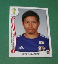 N°247 NAGATOMO JAPON JAPAN PANINI FOOTBALL FIFA WORLD CUP BRAZIL 2014 BRASIL