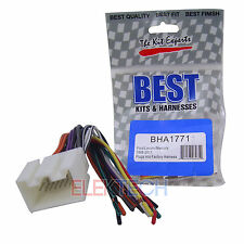 BHA1771 Aftermarket Radio Replacement Wire Harness for Ford Lincoln Mercury