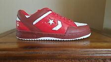 Converse Weapon Red/White Low Basketball Shoes Size 12