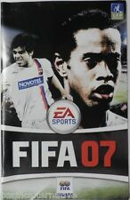 Notice de FIFA 07 sur playstation 2 PS2 football 2007  booklet manual livret