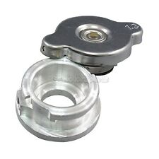 Aluminum Radiator Cap + Filler Neck 1.3 bar or 19 PSI