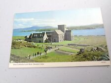 VINTAGE IONA CATHEDRAL AND MULL WESTERN ISLES  POSTCARD