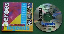 Heroes & Legends Abba Status Quo Rod Stewart Kool & The Gang + Sampler CD