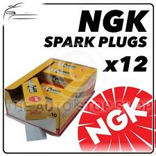 12x NGK SPARK PLUGS PART NUMBER BKR6EKC STOCK NO 2848 NUOVO ORIGINALE NGK sparkplugs