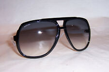 NEW GUCCI SUNGLASSES GG 1622/S BLACK WHITE/GRAY OVF-LF AUTHENTIC