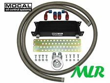SUBARU IMPREZA WRX STI TURBO MOCAL OIL COOLER KIT S/STEEL BRAIDED HOSE ZQK-M20