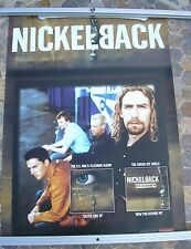 NICKELBACK  Silver Side Up 2001 promo poster 28 x 20  original